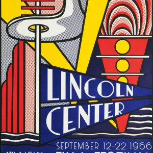 LICHTENSTEIN - LINCOLN CENTER