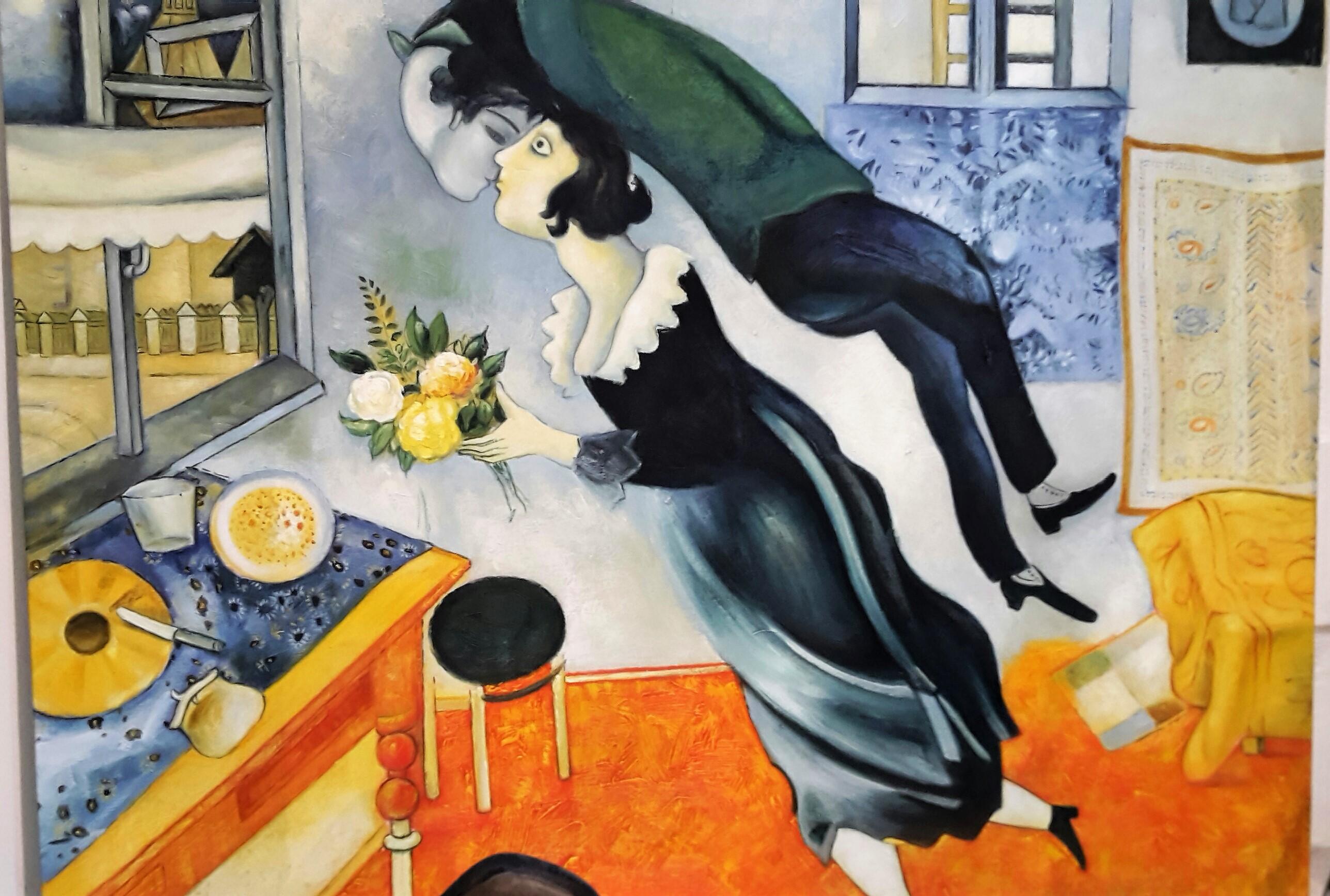 Marc Chagall – Il compleanno 1912 – 80×100 | Quadri e Falsi d\'Autore ...