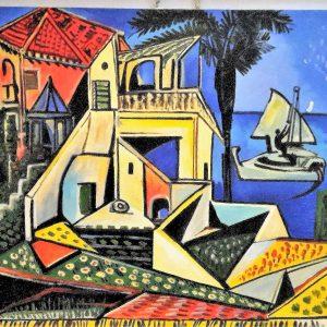 Pablo Picasso 70x50h Mediterranean landscape 1952
