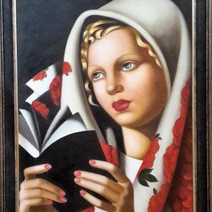 Tamara DE LEMPICKA 60x90h La Messa 1933