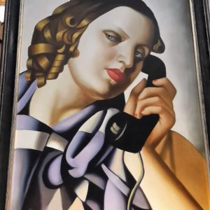 Tamara DE LEMPICKA 60x90h The Telephone 1930