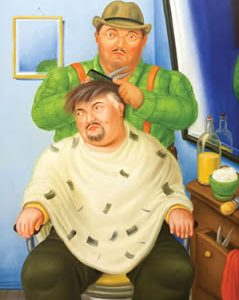 botero barbiere
