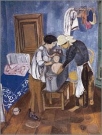 chagall il bagno del bambino