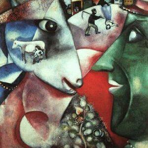 chagall moi et le village