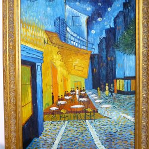VAN GOGH - CAFE AT ARLES
