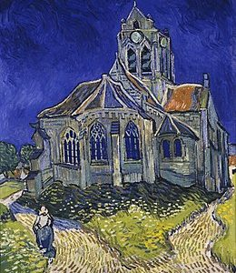 Van Gogh La Chiesa di Auvers 1890